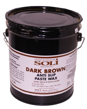 Brown Anti Slip Paste Wax