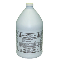 Pine disinfectant to kill off germs